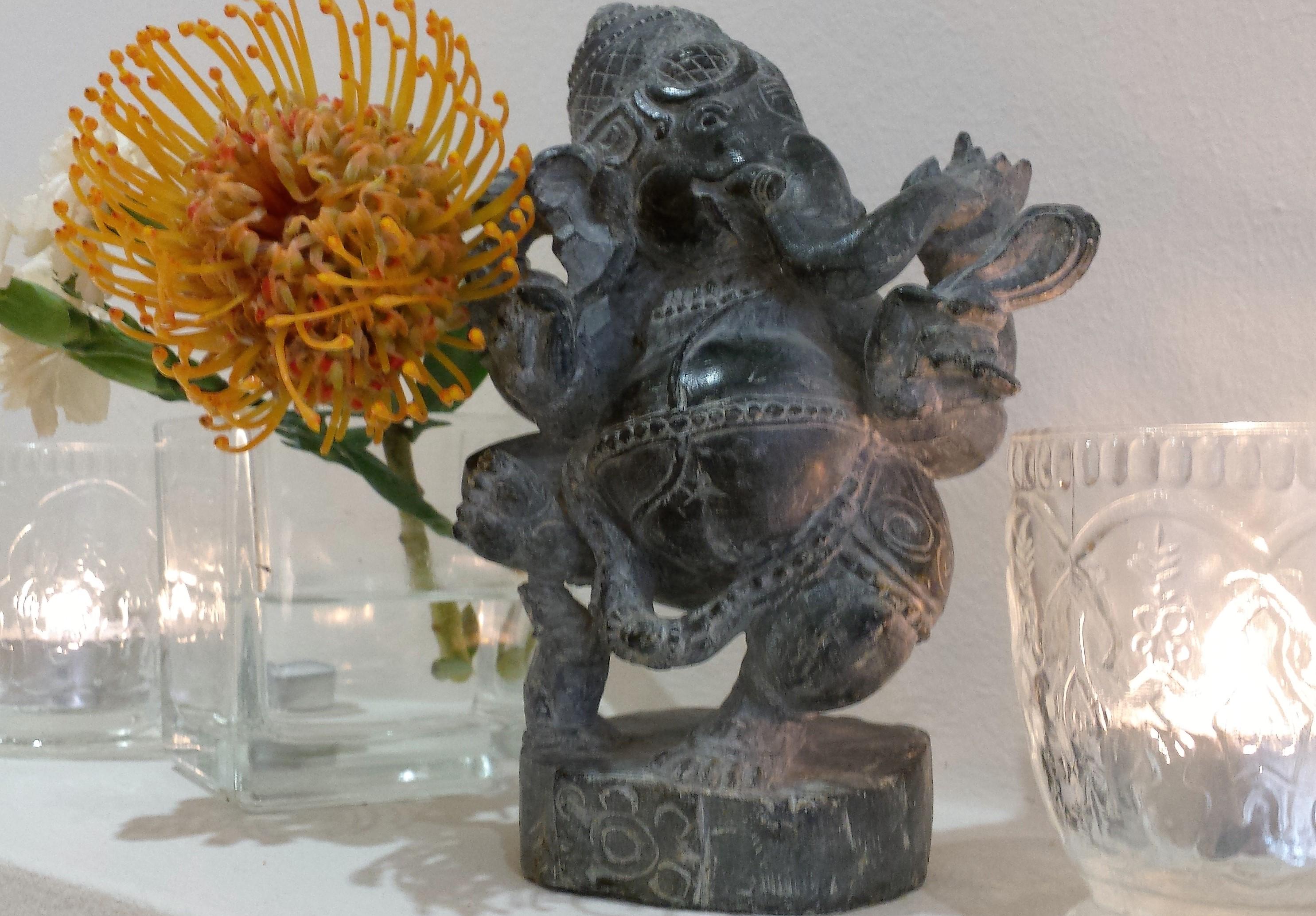 Ganesha leuchtet