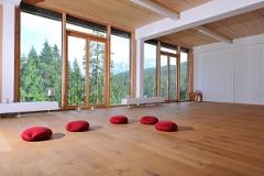 Yogastudio im Das Kranzbach