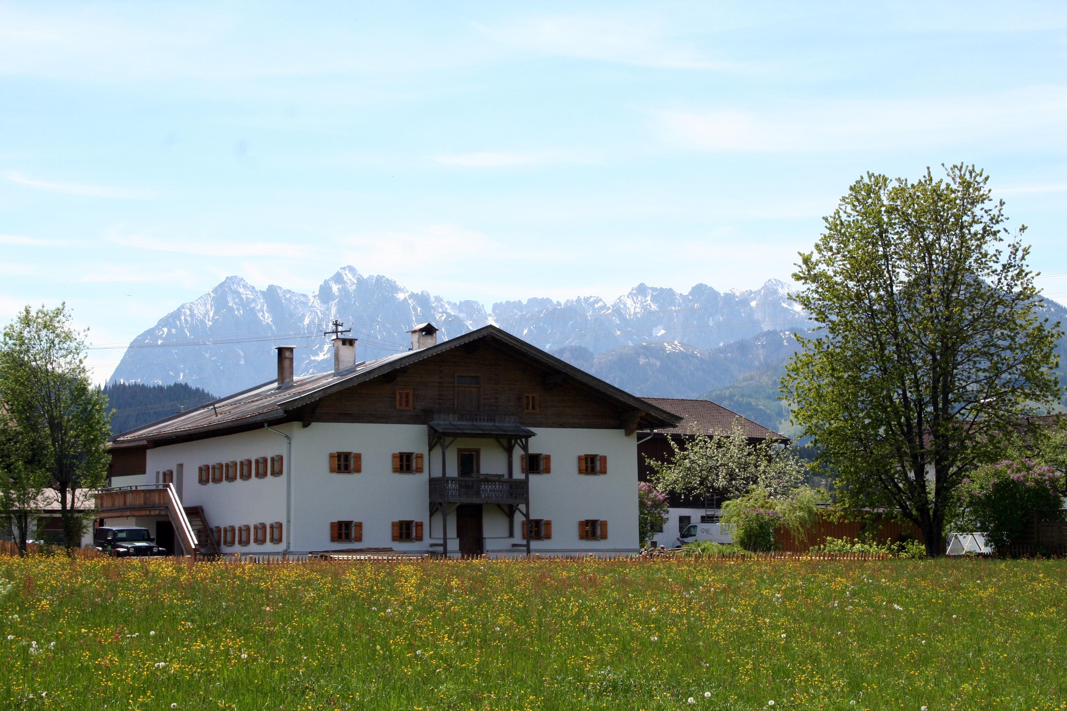 Kapshof Tirol Frühling