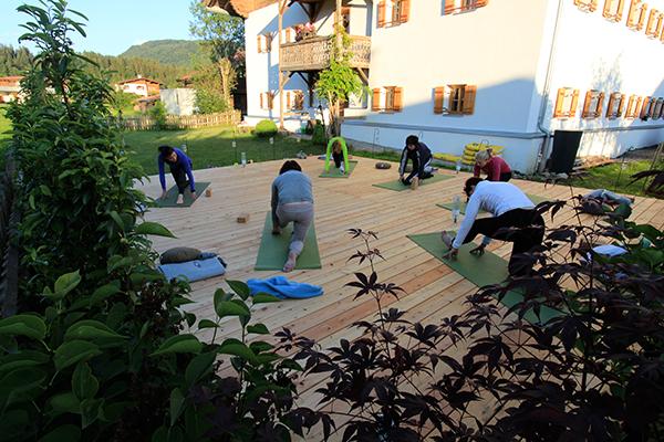 Kapshof Yogaplattform